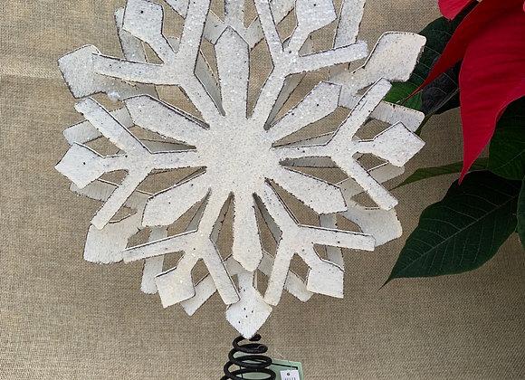 Snowflake Christmas Tree Topper