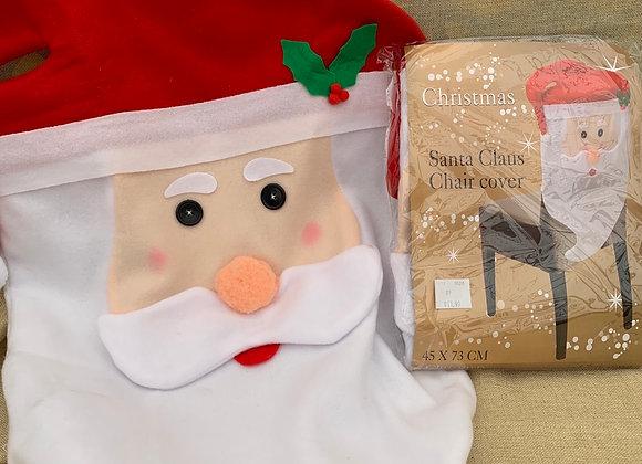 Santa Claus Chair Cover