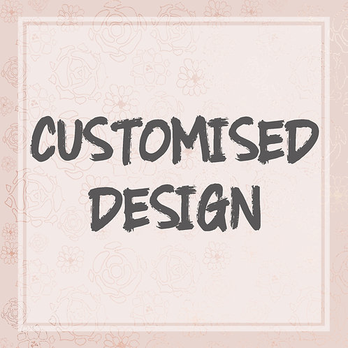 Custom Wedding Keepsake