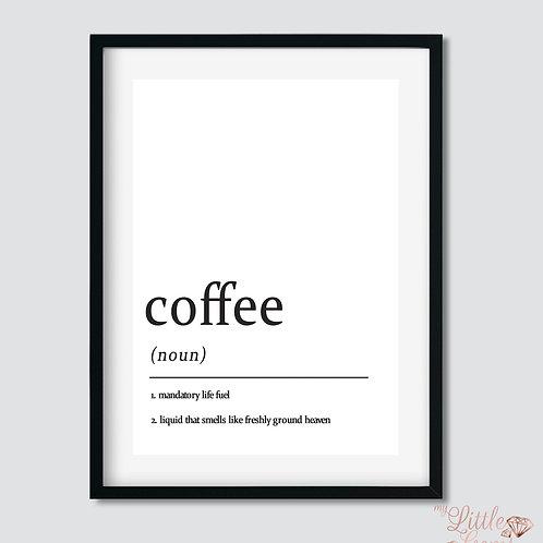 Coffee - Noun