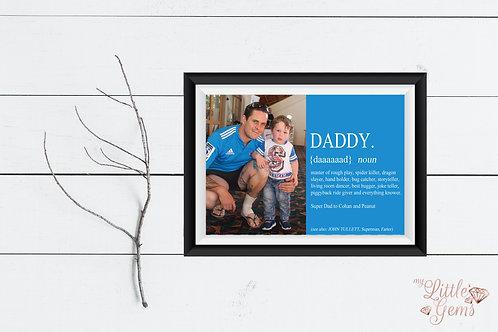 Daddy - noun