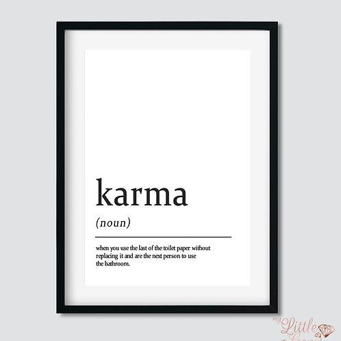 Karma - Noun