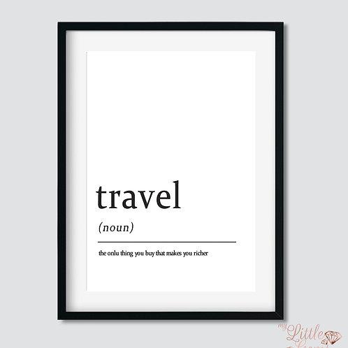 Travel - Noun