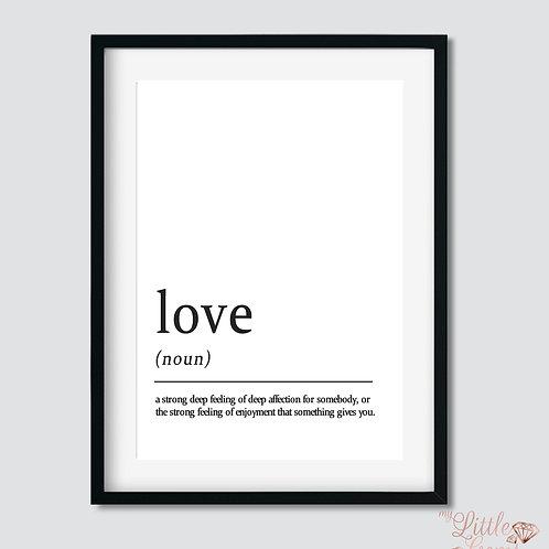 Love - Noun