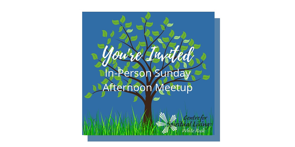 Sunday Afternoon In-Person Meetup