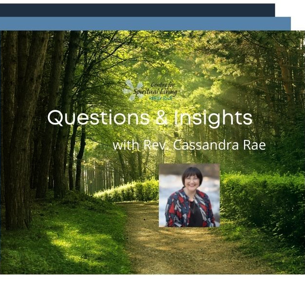 Questions & Insights with Rev. Cassandra Rae - October 20, 2021