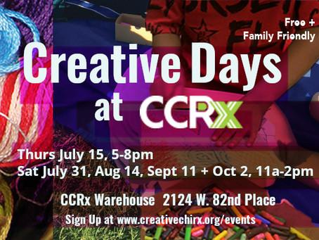 Creative Days + Repair Days at CCRx