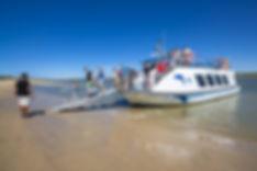 Ferry Rompido Paseos Turísticos Tranbordadores Playas de Cartaya