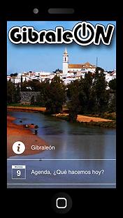 Aplicación móvil GibraleON
