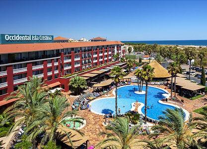 Infotactile Huelva Hotel Occidental Isla Cristina