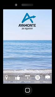 Aplicacion movil Descubre Ayamonte