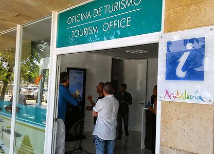 Infotactile Huelva Oficina Turismo Islantilla