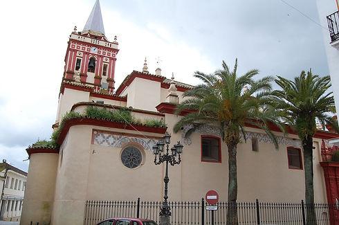 Valverde del Camino iglesia parroquial d