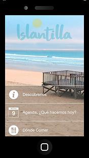 Aplicacion movil Vive Islantilla