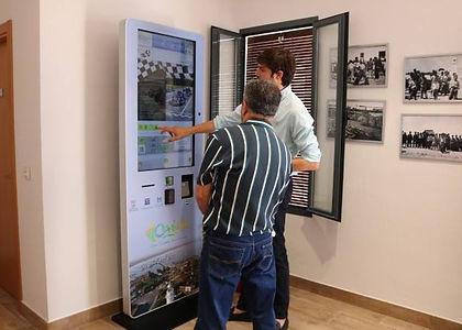 Infotactile Huelva Oficina de Turismo El Rompido