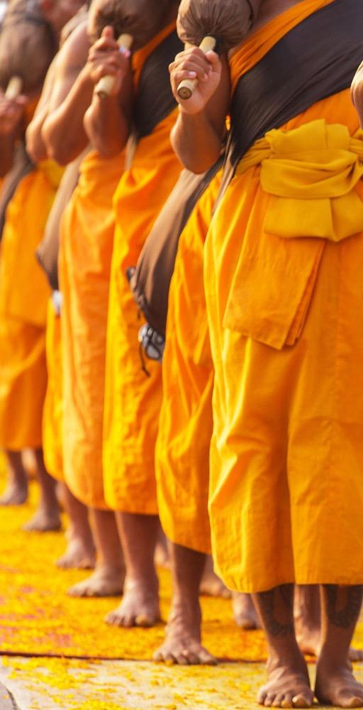 Les moines en Thaïlande 2015-2-9-15:21:54