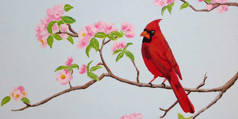 Painting for a Purpose - Welcome Spring!