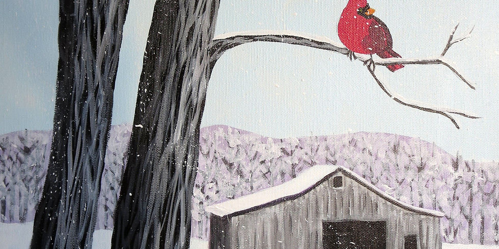 Painting for a Purpose - Winter's Song