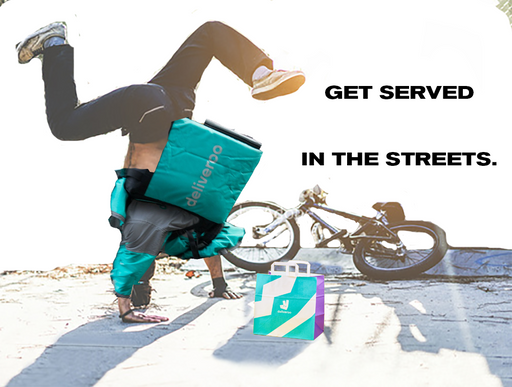 DELIVEROO - BREAKDANCING