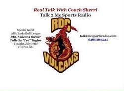 Talk2Me Sports Radio interviews T