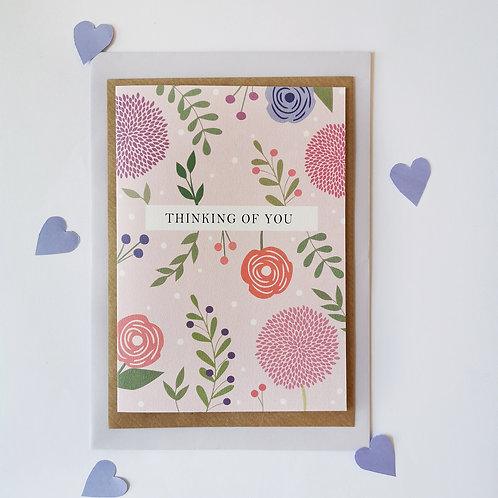 Thinking of You Card (Pack of 6)