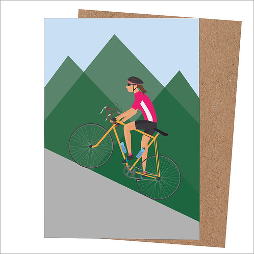 Cycling Card For Her