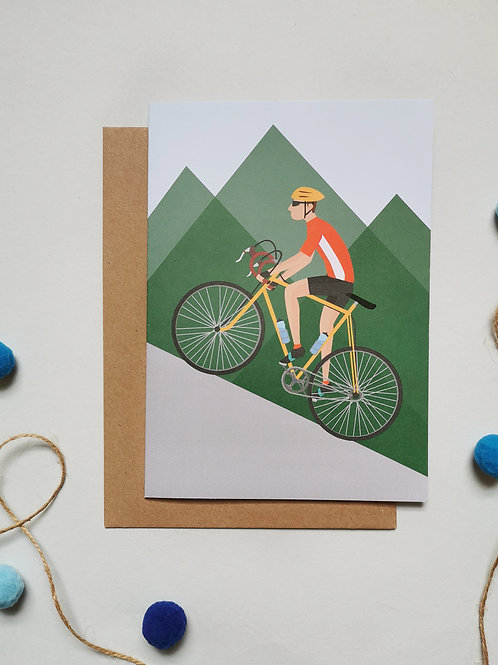 Cycling Card For Him