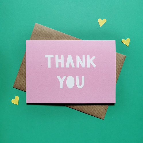 Thank You Card Multipack (Pack of 6)