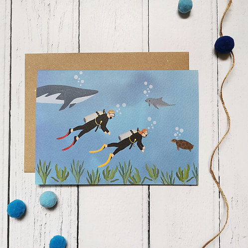 Scuba Diving Card (Pack 6)