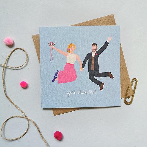 Civil Partnership Card (Pack 6)