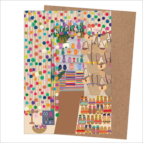 Market Stall Card (Pack of 6)