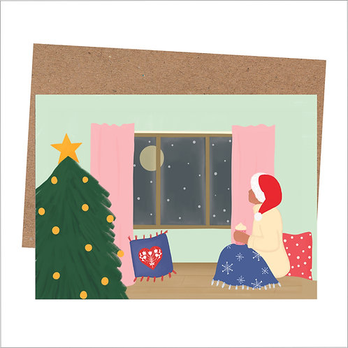 Christmas Window Card (Pack of 6)