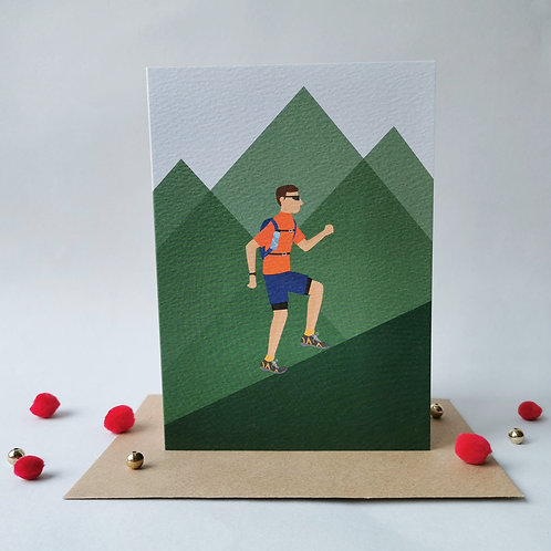 Trail Runner Male Card (Pack 6)