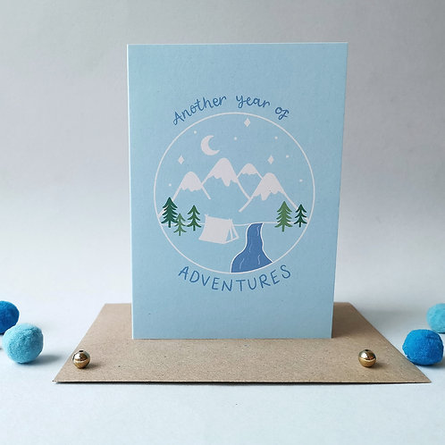 Another Year of Adventures Card