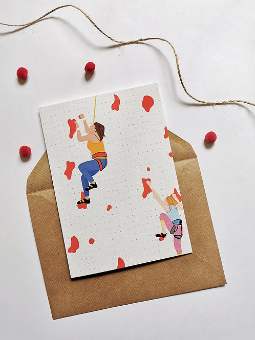 Speed Climbing Card (Pack 6)