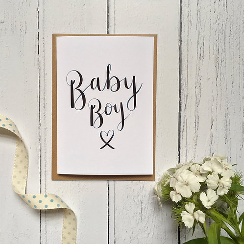Baby Boy Card (Pack 6)