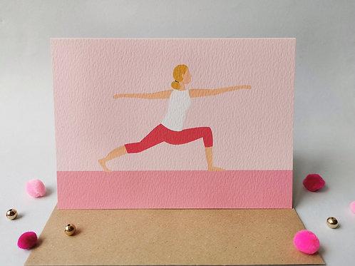 Yoga Female Card (Pack 6)