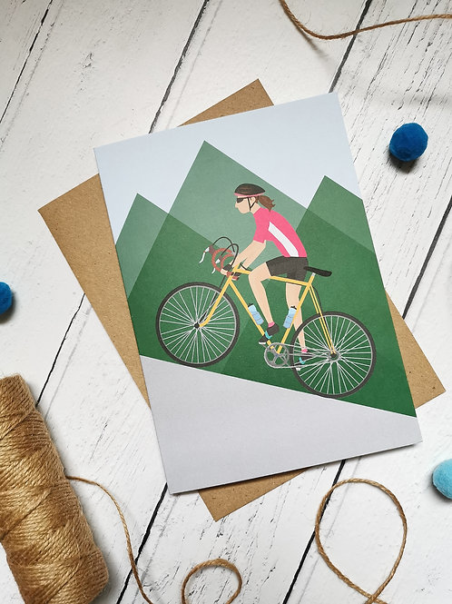 Cycling Card Female (Pack 6)