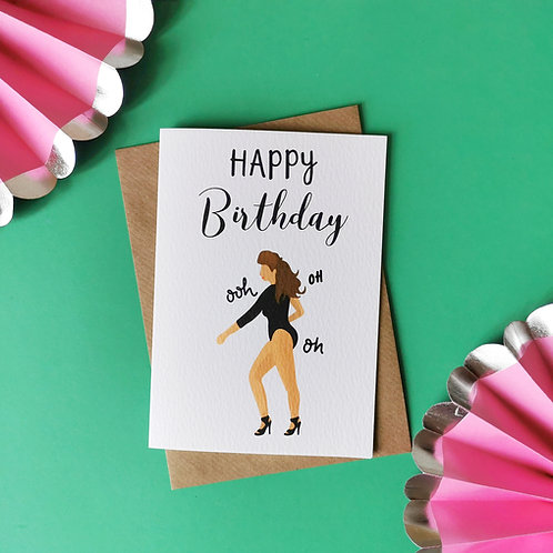 Beyonce Birthday Card (Pack of 6)