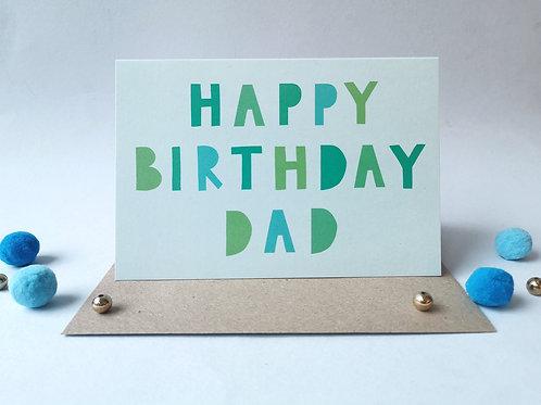 Happy Birthday Dad (Pack 6)