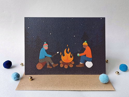 Campfire Card (Pack 6)