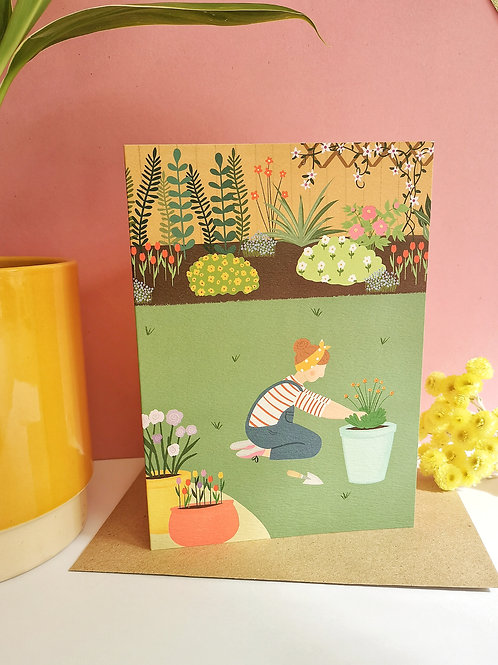 Gardening Card (Pack of 6)