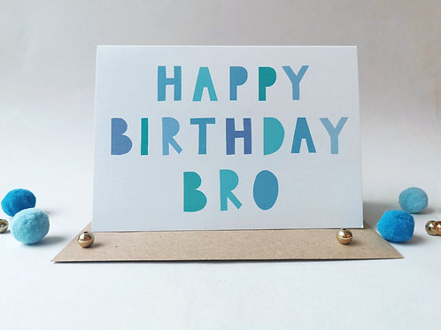 Happy Birthday Bro (Pack 6)