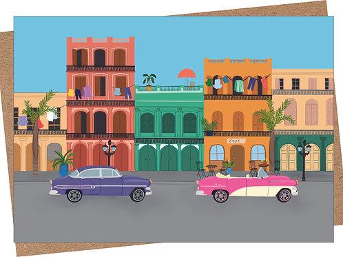 Havana Card (Pack of 6)