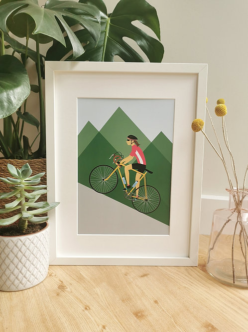 Cycling Print For Her
