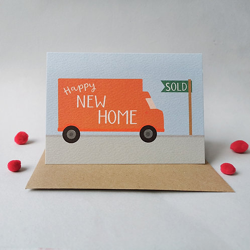 Happy New Home Card (Pack 6)