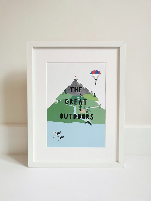 The Great Outdoors Print