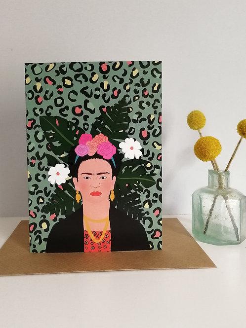 Frida Kahlo Card (Pack 6)