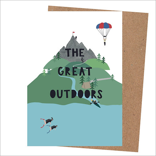 The Great Outdoors Card
