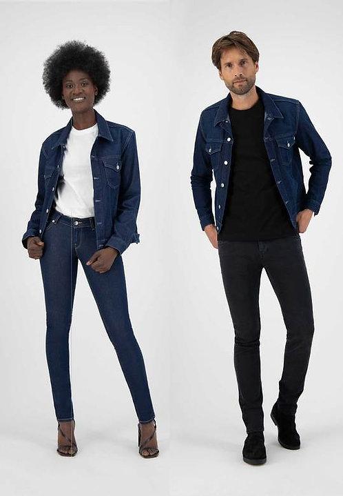 Veste en jeans - mixte - Mud jeans - Strong Blue